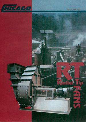 Catálogo de Línea de Ventiladores Radial Tip Heavy Duty