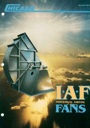 Catálogo de Ventiladores Industriales Airfoil de Servicio Pesado (IAF) - D1903 SW