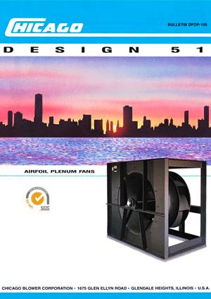 Catálogo de Ventilador Centrífugo Plenum Fan - D51 SW PA - sin carcasa - DFOP-105