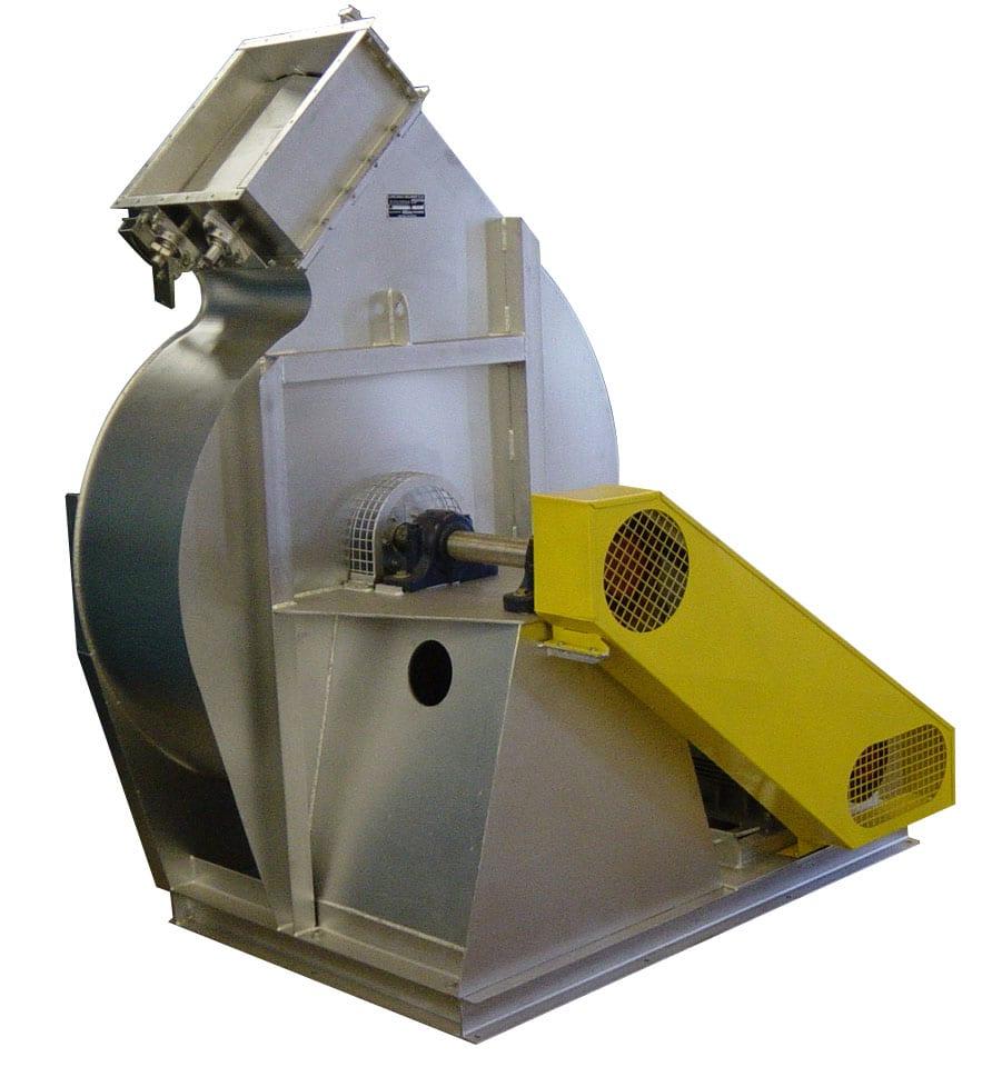 Ventilador Centrífugo de Palas Radiales - D16A SW AM – D16A LS SW – D16A WF