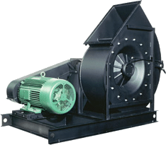 Ventilador Industrial Airfoil de Servicio Pesado - IAF - D1903 SW