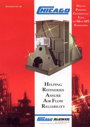 Catálogo de Ventiladores Industriales fabricados bajo normas API